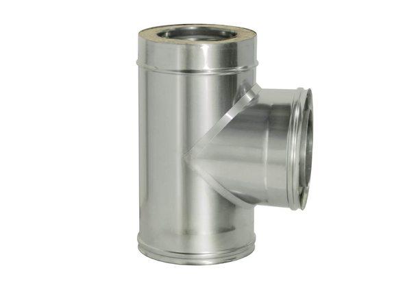 """Тройник 90° """"Дымок"""" с изоляцией D150/230 (0,5) Дымок"""