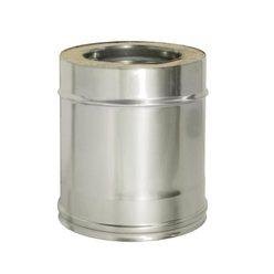Труба прямая L250 с изоляцией, D200/280 (0,5) Дымок