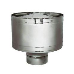 Дефлектор на расш. DHR D120, зеркальная (Вулкан)