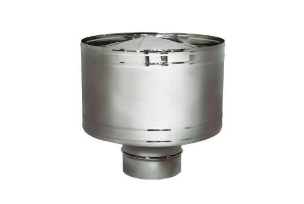 Дефлектор на расш. DHR D115, зеркальная (Вулкан)