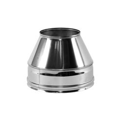 """Конус """"Факел"""" V50R D300/400, нерж321/нерж304 (Вулкан)"""