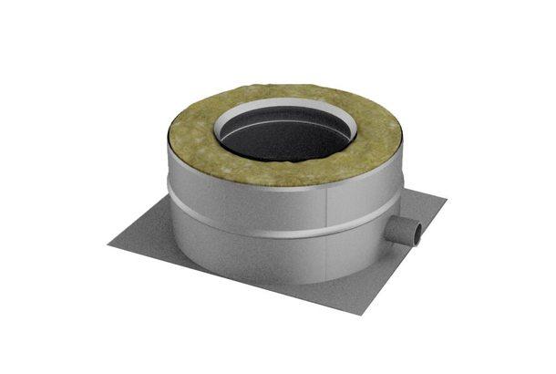 Опора нижняя V50R D250/350 с боковым выпуском конденсата, нерж321/нерж304 (Вулкан)