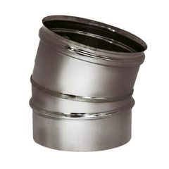 Отвод 15° на расш. OTHR D200 матовая (Вулкан)
