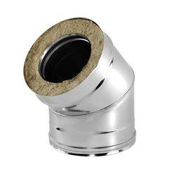 Отвод V50R 45° D300/400, нерж321/нерж304 (Вулкан)