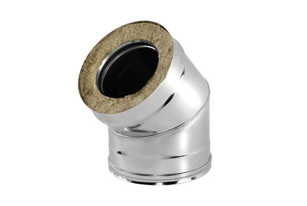 Отвод V50R 45° D180/280, нерж321/нерж304 (Вулкан)