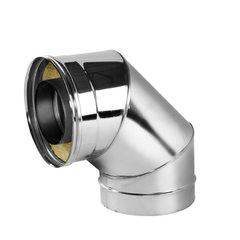 Отвод V50R 90° D130/230, нерж321/нерж304 (Вулкан)