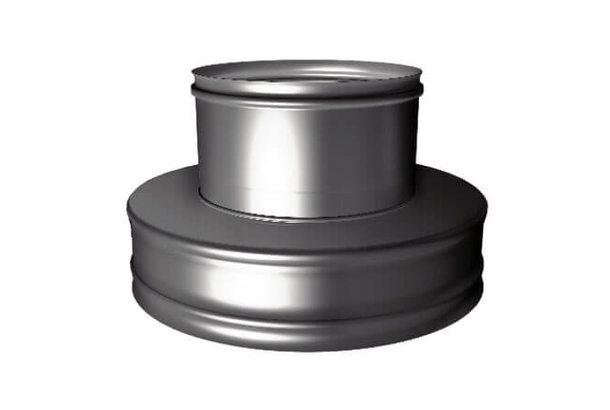 Переходник термо-моно V50R с D180/280 на D180, нерж321/нерж304 (Вулкан)