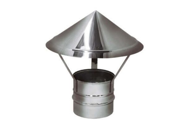 Зонт на расш. AHR D115 зеркальная (Вулкан)