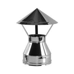 Зонт V100R D130/330, нерж321/нерж304 (Вулкан)