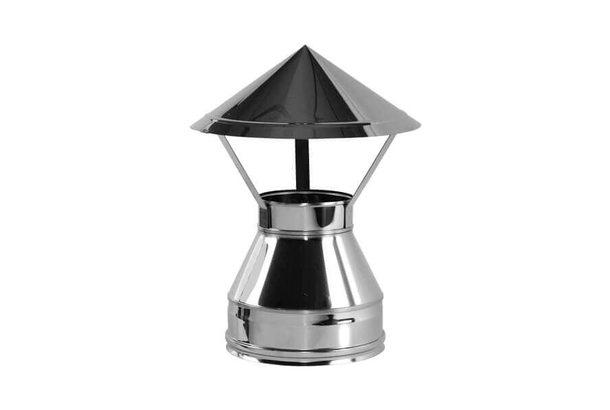 Зонт V50R D150/250, нерж321/нерж304 (Вулкан)