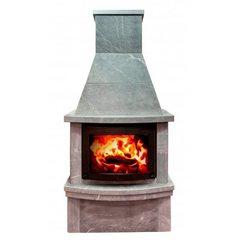 Печь-камин Теплый камень fs 7-1