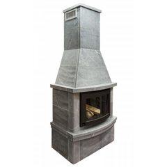 Печь-камин Теплый камень fs 7