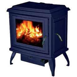 Печь-камин Charleston C2-02, синий, эмаль (Cashin)