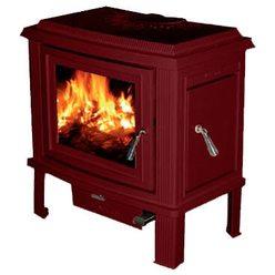 Печь Charleston C4-02, бордовый, эмаль (Cashin)