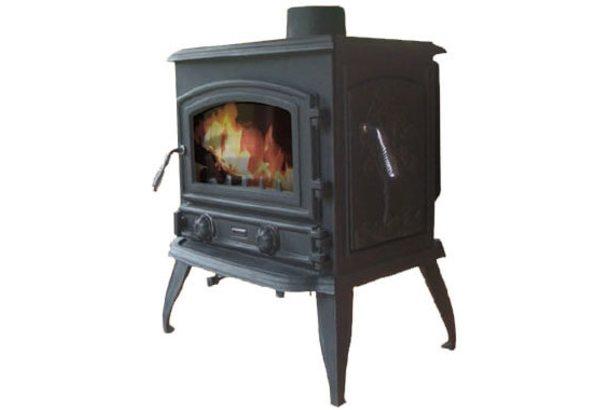 Чугунная печь Firejet 309 MK II, черный (Cashin)