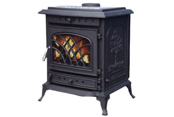 Чугунная печь Firejet 409, черный (Cashin)