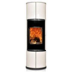Печь ZION, черная/белая керамика (Concept Feuer)