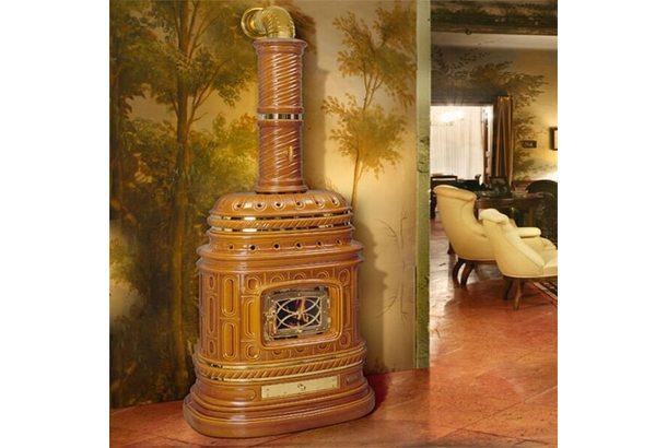 Печь Corsara, honey, с бок. дверцей (Sergio Leoni)