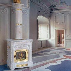 Печь Vecchia Londra, white craquele (Sergio Leoni)