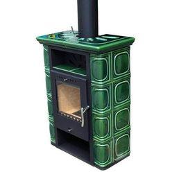 Печь-камин Borgholm Keramik TOP, оливково-зеленая (Thorma)