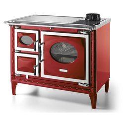 Печь-плита NANSA II, стеклокер., хром, бордовая (Hergom)