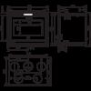 Топка 800 FV T, с турбиной (RLD)