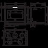 Топка 800 Horizon FV T, с турбиной (RLD)