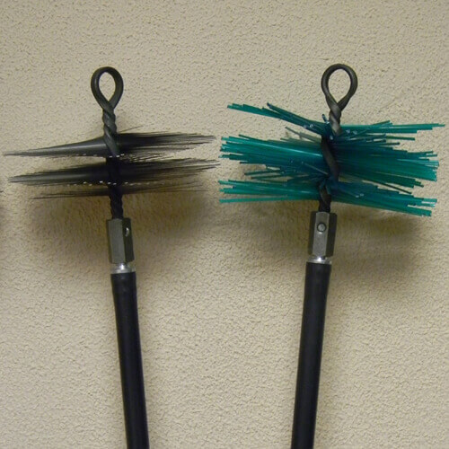 щетка-ерш для чистки дымохода мечи